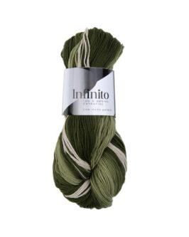 Infinito<br />4Hellgrün-Dunkelgrün