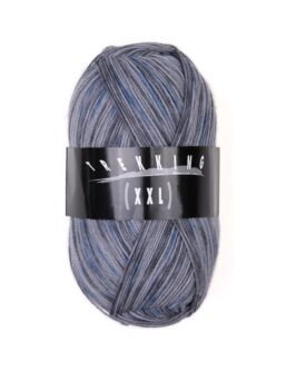 XXL-Trekking color<br />704Jaquard Blau