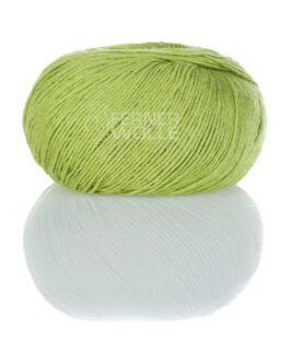 Leinen Soft Mix<br />VL12Gelbgrün