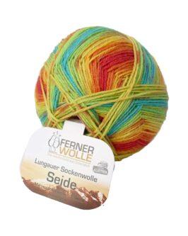 Lungauer Sockenwolle mit Seide<br />413-20Bunt