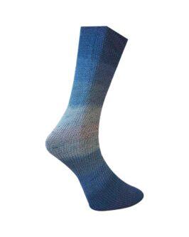 Lungauer Sockenwolle mit Seide<br />418-20Blau