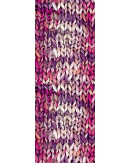 About Berlin Bulky Print<br />158Weiß/Lachs/Pink/Violett