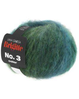 Brigitte No. 3 Color<br />102Graugrün/Oliv/Opal