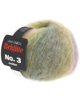 Brigitte No. 3 Color<br />105Grau/Gelb/Pastellrosa