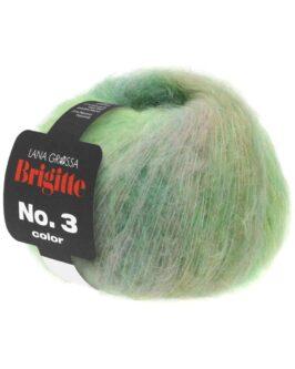 Brigitte No. 3 Color<br />106Gelbgrün/Jade/Türkis