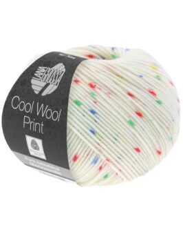 Cool Wool Print Punto