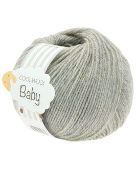Cool Wool Baby Uni<br />206Hellgrau meliert