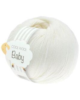 Cool Wool Baby Uni<br />207Weiß