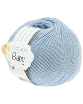 Cool Wool Baby Uni<br />208Hellblau