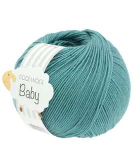 Cool Wool Baby Uni<br />284Minttürkis