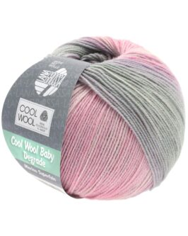 Cool Wool Baby Dégradé<br />508Zartrosa/Nelke/Hellgrau/Flieder