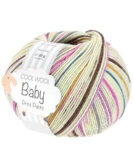 Cool Wool Baby Print<br />311Rohweiß/Graublau/Pink/Rosa/Gelb/Khaki