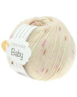 Cool Wool Baby Print Punto<br />353Rohweiß/Flieder/Rosa/Bee