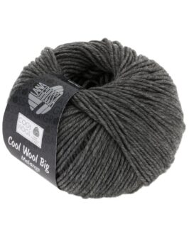 Cool Wool Big Uni<br />617Dunkelgrau meliert