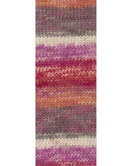 Cool Wool Big Color<br />4012Ecru/Erika/Pink/Orange/Tomatenrot/Zyklam