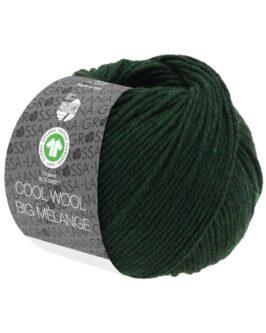 Cool Wool Big Mélange GOTS<br />206Tanne meliert