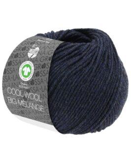 Cool Wool Big Mélange GOTS<br />207Nachtblau meliert