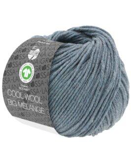 Cool Wool Big Mélange GOTS<br />210Graublau meliert