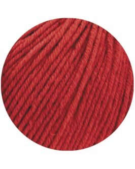Cool Wool Big Mélange GOTS<br />215Rot meliert