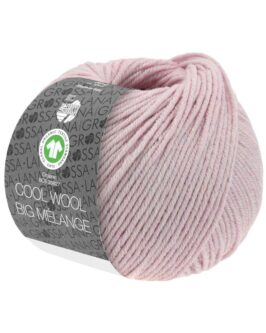 Cool Wool Big Mélange GOTS<br />217Fliederrosa meliert