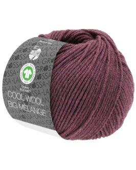 Cool Wool Big Mélange GOTS<br />218Beere meliert
