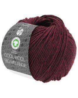 Cool Wool Big Mélange GOTS<br />219Dunkel-/Schwarzrot meliert