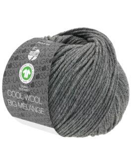 Cool Wool Big Mélange GOTS<br />221Dunkelgrau meliert