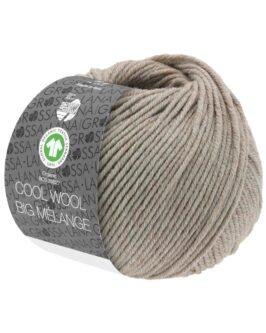Cool Wool Big Mélange GOTS<br />223Beige meliert
