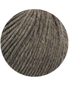 Cool Wool Big Mélange GOTS<br />224Graubraun meliert