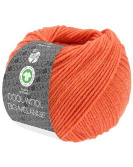 Cool Wool Big Mélange GOTS<br />228Koralle meliert
