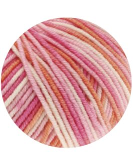 Cool Wool Print<br />726Rosa/Pink/Koralle/Ecru