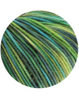 Cool Wool Print<br />784Gelbgrün/Türkis/Graugrün/Petrol