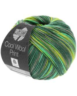 Cool Wool Print<br />820Hell-/Dunkel-/Gelbgrün/Grau/Jade