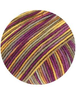 Cool Wool Print<br />822Gelb/Camel/Taupe/Fuchsia