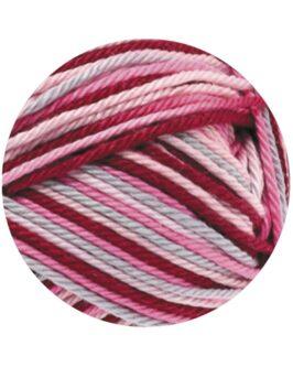 Cotone Print<br />327Rosa/Pink/Bordeaux/Hellgrau