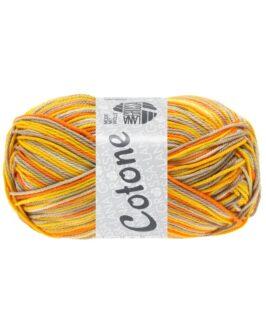 Cotone Print<br />337Beige/Taupe/Dottergelb/Orange