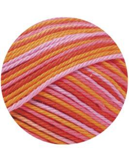 Cotone Print<br />342Pink/Flieder/Apricot/Himbeer