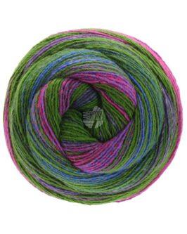 Gomitolo Bene<br />764Oliv/Violett/Fuchsia/Pink/Royal/Graublau