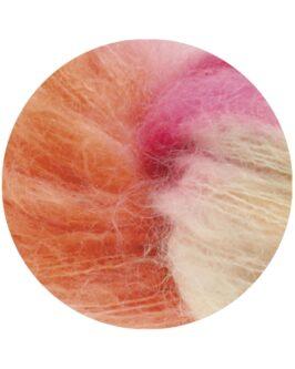 Silkhair Hand-Dyed<br />605Maharani – Orange/Ecru/Rosa/Fuchsia