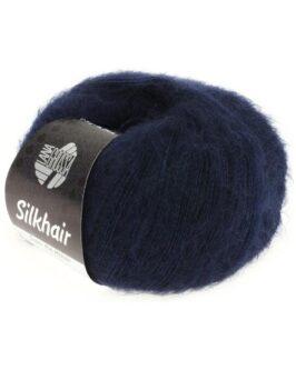 Silkhair Uni<br />27Nachtblau