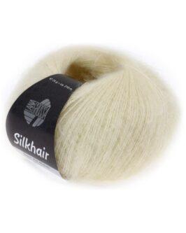 Silkhair Uni<br />52Rohweiß