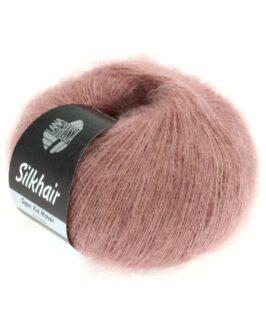 Silkhair Uni<br />74Rosenholz