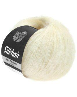 Silkhair Uni<br />117Weiß