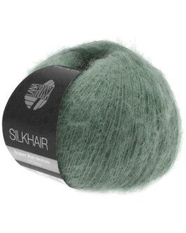 Silkhair Uni<br />127Moosgrün