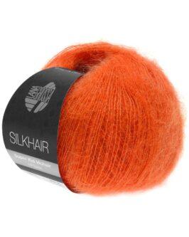 Silkhair Uni<br />136Dunkelorange