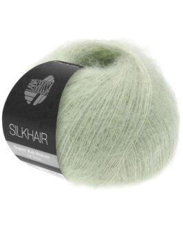 Silkhair Uni<br />140Weißgrün