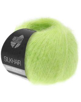 Silkhair Uni<br />141Gelbgrün