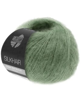 Silkhair Uni<br />154Resedagrün
