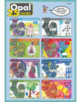 Opal 25 Jahre 4-fach<br />11042Designs Mit Leidenschaft