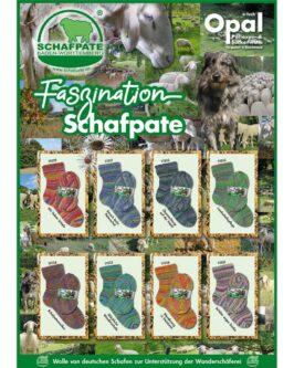 Opal Schafpate 13 4-fach<br />11035Glückliche Wanderschafe